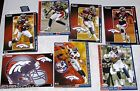 NFL Denver Broncos AFC West FATHEAD Tradeables ~ collectible cards wall decal $6.6 USD on eBay