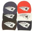 1 Pack Man's Boy's Winter Beanie Knit Poker Warm Spandex Hat 6 Color Options
