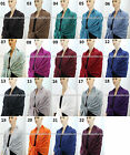 New Pashmina Scarf Shawl Wrap Cape Cashmere Silk Wool More Design & Color 61s