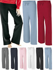 Bella Womens S M L XL 2XL Cotton Fleece Pant Yoga Sport Sweatpants 7017 Ladies