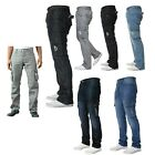 """BNWT ENZO STYLISH BRANDED CARGO COMBAT JEANS PANTS 28""""-48"""" REDUCED BARGAIN!!"""