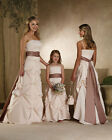 FOB-041 wedding bridesmaid dress party prom bridal gown