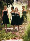 FOB-075 wedding bridesmaid dress party prom bridal gown