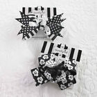 Mud Pie Tres Jolie Black and White Hair Bow Size 5'' X 3'' NWT