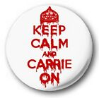 "Keep Calm And Carry On (Various Designs) 1"" / 25mm Button Badge"