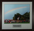 DAVIS LOVE III - Rainbow Victory Winged Foot Framed Golf Photo 11x14 OR 16x20