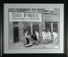 'FREE GOLF' While You Wait Framed Classic Golf Photograph (11 x 14 or 16x20)