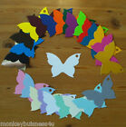 10 or 15 - Tags & Frame Die Cuts - Butterfly - Place Cards/Wedding/Invitations