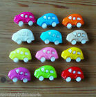 Novelty Buttons - Beetle Car - Baby & Kid's - Topper - Knitting/Sewing