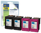 4 Remanufactured 901XL Black / Colour Ink Cartridges for HP Officejet Printers