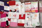 NWT Gymboree Baby Toddler Girl Fashion Design Tights Stripe Dot Snow ONE