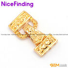 3 Strands Yellow Gold Plated Magnet Jewelry Clasps