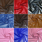 SEMI-GLOSS LEATHER-LIKE VINYL SOFT 2-WAY STRETCH FABRIC GOTHIC FETISH CLOTHING