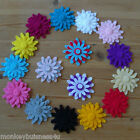 Felt Die Cuts - Flower #3 - Layering - Clothes - Topper - Applique - Cardmaking