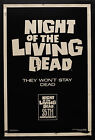 NIGHT OF THE LIVING DEAD Movie Poster RARE Zombies