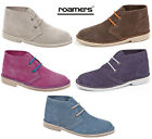 Womans / Ladies Girls Suede Desert Boots Sizes Uk 3 4 5 6 7 8