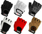 Meteor LEATHER Weight lifting gloves Gym Body Building Training fitness