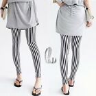 AU SELLER Cotton Striped Design Leggings Pants SZ S-XL/AU6-14 p107