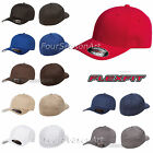Внешний вид - Original Flexfit Fitted Baseball Hat Wooly Combed Twill Cap Blank Flex Fit -6277