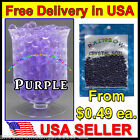 Purple Water Marbles Crystal Soil Gel Ball Plants Decoration Wedding Centerpiece