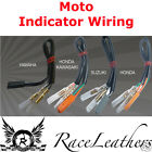 MOTO LED INDICATOR WIRING TO CONNECT THE REQUIRED RESISTOR TO THE WIRING HARNESS