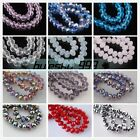 20pcs Faceted Glass Crystal Charms Rondelle Finding Loose Spacer Beads 14x10mm