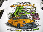 Rat Fink Forget the House How Big is the Garage Ed Roth t shirt S-XXX white tee