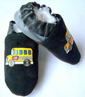 Moxies soft soled leather boys baby shoes all size bus chaussons en cuir T32-33
