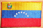 VENEZUELA Country Flag Embroidered PATCH