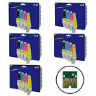 20 Inks - non-original Printer Ink Cartridges for Epson E0711-E0714 Range