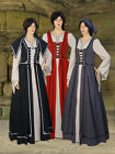 Medieval Renaissance Chemise and Dress Outfit Handmade