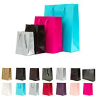 100 Luxury Paper Gift Bags Paper Carrier Bag Party Bag 26x34x11cm