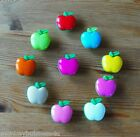4 - Novelty Buttons - Large  Apple - 21mm - Baby/Kid's - Knitting/Sewing - Cards