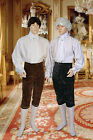 Antique Style Velvet Pants Handmade for Renaissance, Baroque, Epoch Costuming