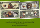 Novelty Notes / Fun Money - Erntedankfest / THANKSGIVING  *neu*