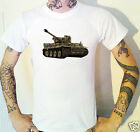 Tiger Tank T-Shirt New! Army War Weapons Militaria Military