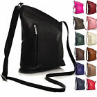 New Small Mini Genuine Soft Venenzi Italian Leather Cross Body Unisex Handbag