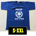 Genuine Israei Police T-Shirt 100% Cotton Defense Force Training Defence Uniform