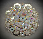 Crystal Berry Concho ~ Handcrafted with AB Crystal  Swarovski Elements