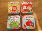 Card Games in a Tin - Numbers, Alphabet, Farmyard & Wild Animal Trumps g107
