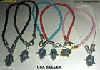 "'Lucky"" Kabbalah  Hamsa Braided Bracelets for Success and Good Luck USA SELLER"