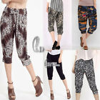 Soft Casual Hippie Short Harem Yoga pants Multiple Style SZ S-XXL/AU8-16 P002