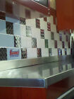 24 Decorative Self Adhesive Kitchen Metal Wall Tiles 3 sq ft. <br/> Manufactured and Made in South Amboy N.J