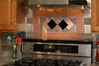 Внешний вид - 24 Decorative Self Adhesive Kitchen Metal Wall Tiles 3 sq ft.