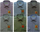 Mens Traditional Country Classics Long Sleeve Check Shirts M - Xxl By Tom Hagan