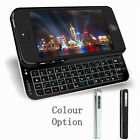 New Version Ultra Slim Wireless Slide Out Bluetooth Keyboard Case for iPhone5 5s