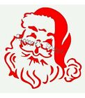 Stencil Santa Claus Old Fashioned for Crafts Projects Fabric, Signs