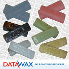 DATA  Wax for Ski & Snowboard - Assorted Temp + Graphite, Rub & Iron on