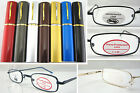 L120 Reading glasses/Aluminum Case/Plane Presbyopia +100+150+200+225+250+275+300