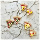 Funky Kitsch Polymer Clay Pizza Earrings-3 designs to choose from